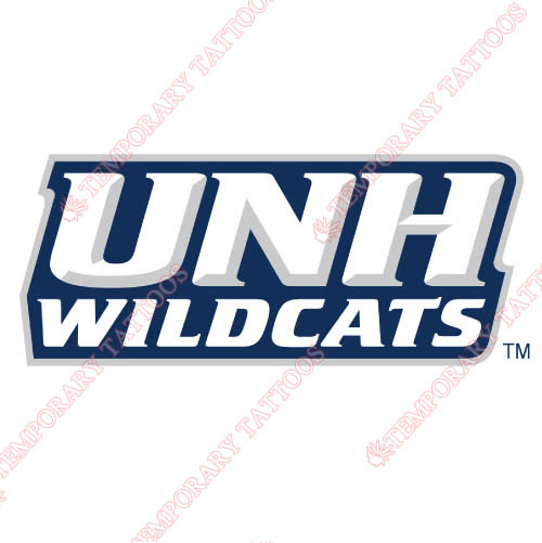 New Hampshire Wildcats Customize Temporary Tattoos Stickers NO.5409